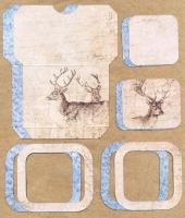 Высечки, конверты, рамочки для скрапбукинга №42