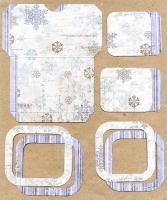 Высечки, конверты, рамочки для скрапбукинга №43