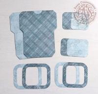 Высечки, конверты, рамочки для скрапбукинга №44