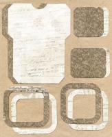 Высечки, конверты, рамочки для скрапбукинга №45