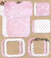 Высечки, конверты, рамочки для скрапбукинга №46