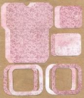 Высечки, конверты, рамочки для скрапбукинга №47
