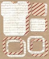 Высечки, конверты, рамочки для скрапбукинга №48