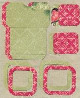 Высечки, конверты, рамочки для скрапбукинга №49