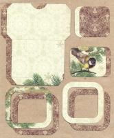 Высечки, конверты, рамочки для скрапбукинга №50