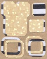 Высечки, конверты, рамочки для скрапбукинга №53