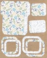 Высечки, конверты, рамочки для скрапбукинга №54