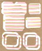 Высечки, конверты, рамочки для скрапбукинга №58