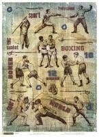 Карта для декупажа «Мужской спорт»