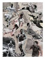 Карта для декупажа «Футбол. История в лицах»