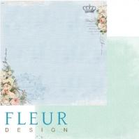 Бумага «Цветы Прованса. Цветочная синева»