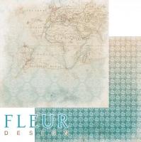 Бумага «Карта. Лагуна»