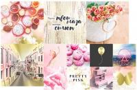 Набор карточек «Pretty pink» №4