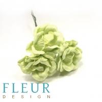 Цветы для скрапбукинга Магнолия светло-зеленая
