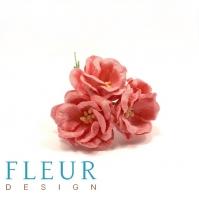Цветы для скрапбукинга Магнолия коралловая