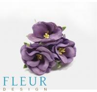 Цветы для скрапбукинга Дикая роза фиолетовая