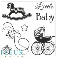Силиконовые штампы «Little baby»