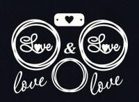 Чипборд Love рамочки