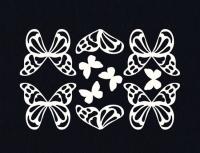 Чипборд Бабочки ажурные