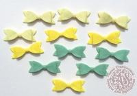 Бантики декоративные «Лимонный пирог» №1
