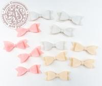 Бантики декоративные «Ванильно-розовый» №2