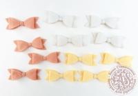 Бантики декоративные «Лимонный пирог» №2