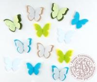 Бабочки «Лимонный пирог»