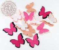 Бабочки «Ванильно-розовый»