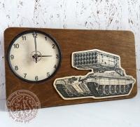 Часы деревянные на заказ