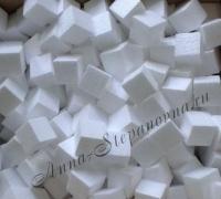 Кубики из пенопласта 3 см.