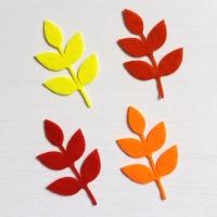 Листья из фетра осенние