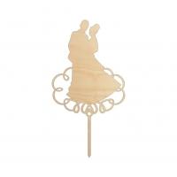 Топпер «Жених и невеста»