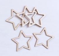 Набор «Звезды» элементы из дерева