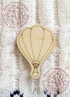 Заготовка «Воздушный шар» значок
