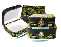 Набор из 2 чемоданов «Королевская кобра»