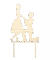 Свадебный топпер «Двое»
