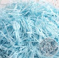 Бумажный наполнитель нежно-голубой