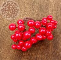 Искусственные ягоды Красный микс