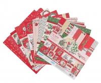 Набор бумаги для скрапбукинга «Новогодняя сказка»