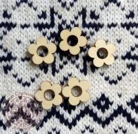Декор деревянный «Цветочки»
