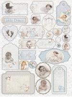 Чипборд с печатью «Наш малыш Мальчик»