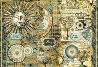 Бумага рисовая для декупажа «Астрономия-2»