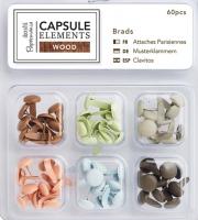 Набор брадсов «Elements Wood»