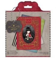 Набор открыток с конвертами «Девочка Gorjuss»