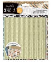 Набор открыток с конвертами «Mister»