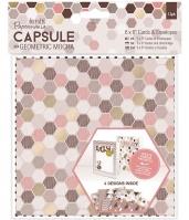 Набор открыток с конвертами «Geometric Mocha»