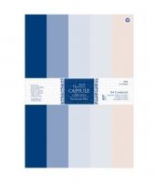 Набор кардстока Parisienne Blue