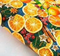 Бумага упаковочная Пряные мандарины