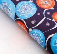 Бумага упаковочная Роскошные шары