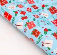Бумага упаковочная Яркие подарки